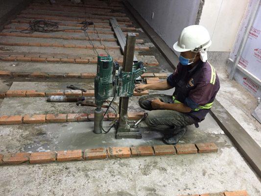 Công ty khoan cắt bê tông Hùng Vỹ nhận thi công những dịch vụ nào