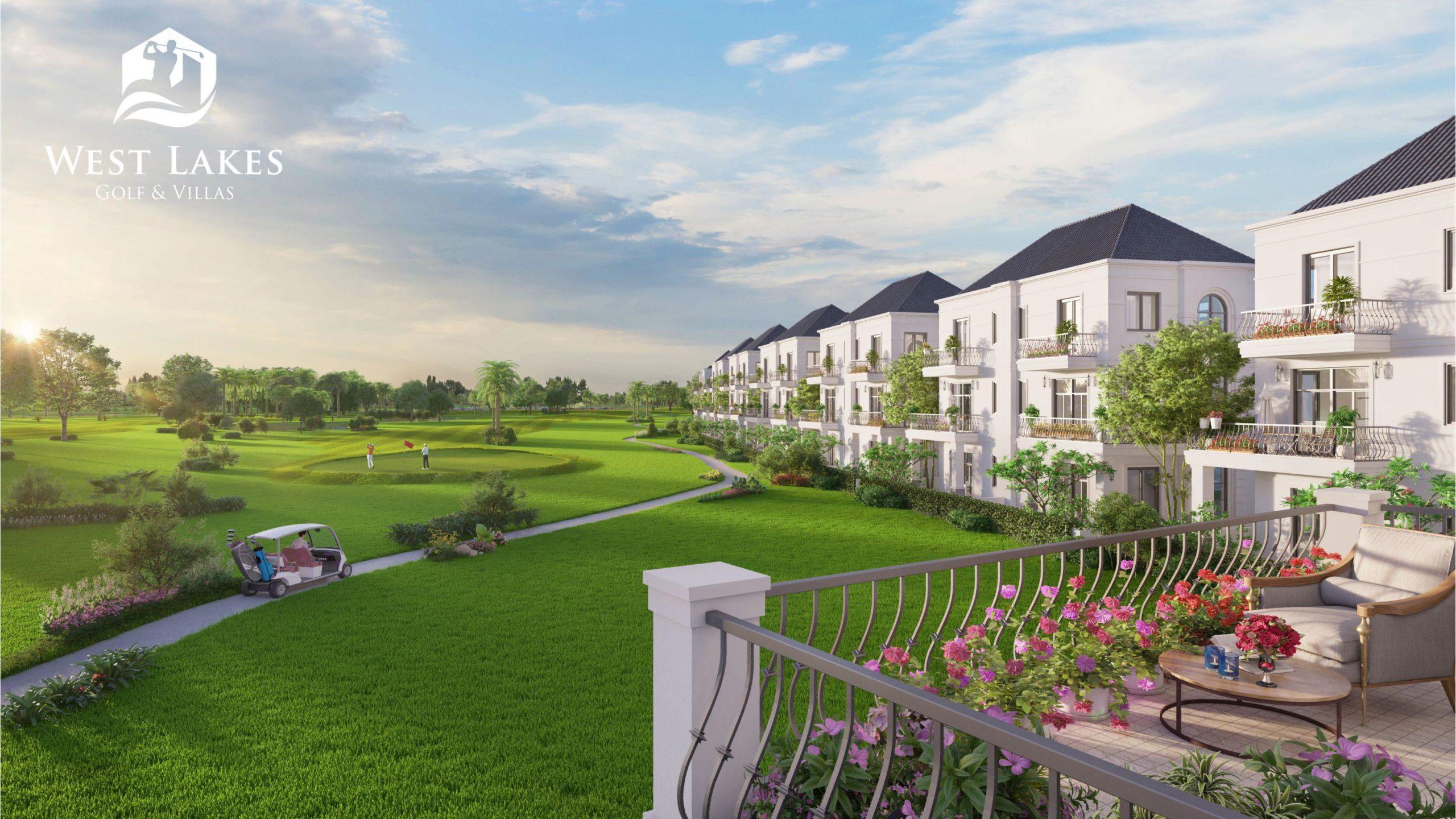 West Lakes Golf & Villas siêu dự án đô thị sân golf tại Long An